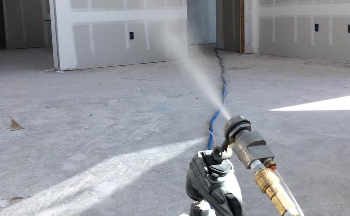 AeroBarrier Spray Room