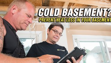 Prevent-Heat-Loss-In-Your-Basement Mike Holmes Advice Make It Right