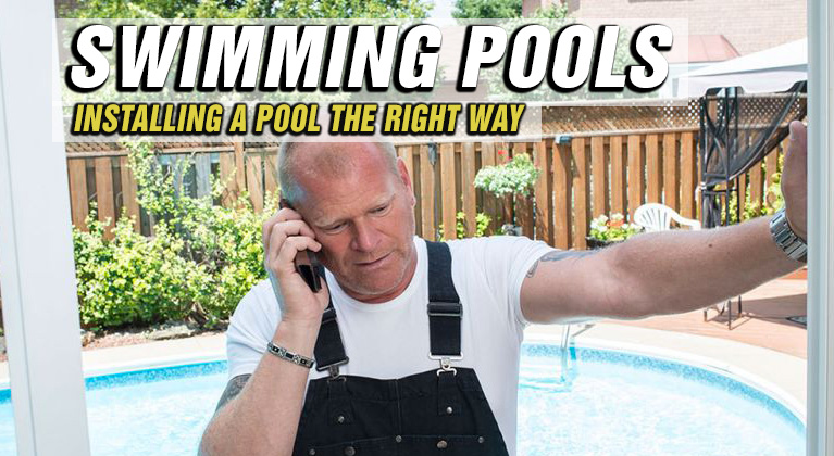 Installing Swimming Pools Right