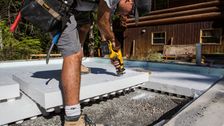 Blocking radon from entering your home - Mike Holmes