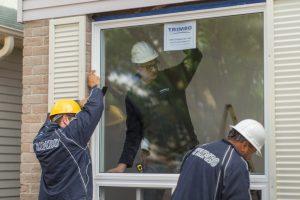 Trimbo window installation
