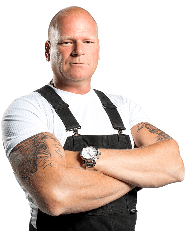 The 57-year old son of father (?) and mother(?) Mike Holmes in 2021 photo. Mike Holmes earned a  million dollar salary - leaving the net worth at  million in 2021