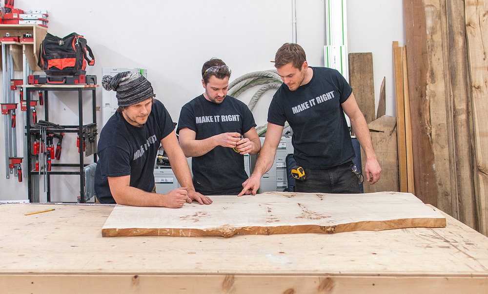 Building My first river table - holmes + holmes season 2 - mike holmes jr