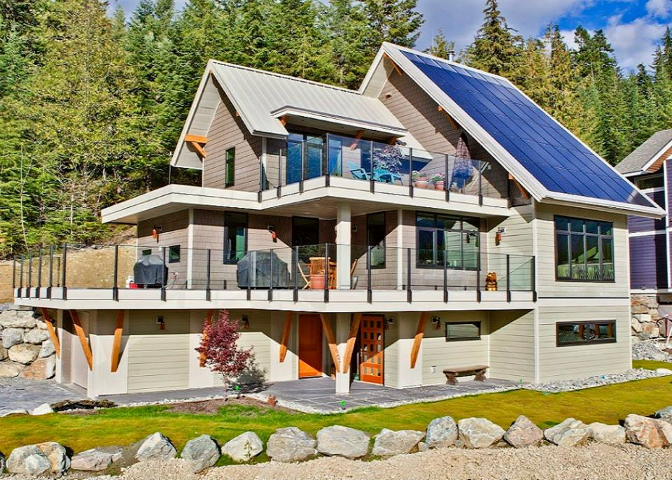 RDC Fine Homes with Solar Net Zero_Front Exterior2