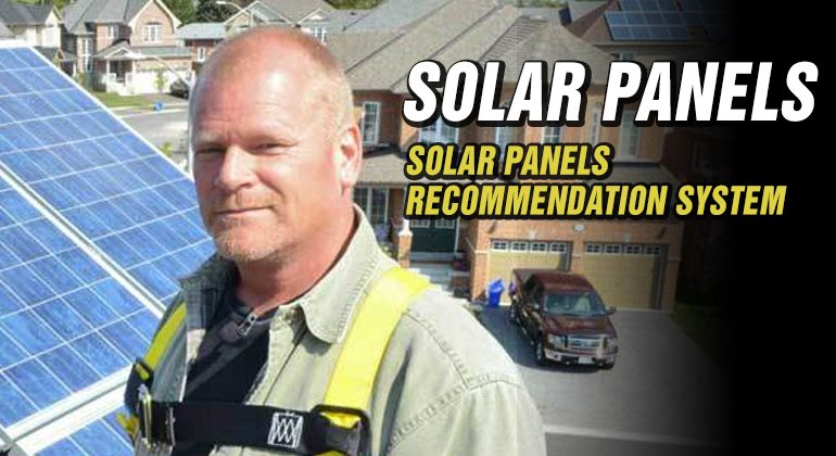 Solar-Panels-Recommendation-System