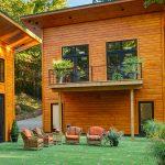 Timber Block House