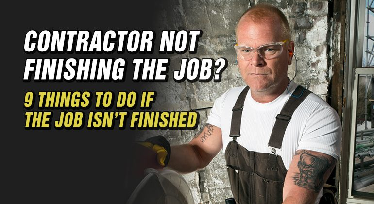 Contractor-not-finishing-the-job-featured-image Mike Holmes