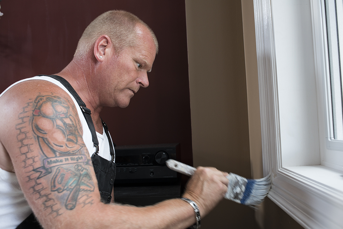 Mike Holmes Painging - End Of Renovation