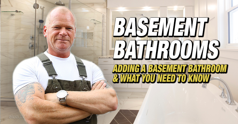 Adding A Basement Bathroom What You, How To Vent A Bathroom In The Basement